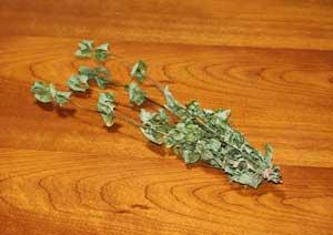 キューバミントの葉の乾燥方法